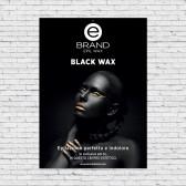 Poster Rigido Ebrand Black Wax - 50x70cm