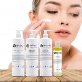 Protocollo trattamento viso detersione purificante sebonormalizzante