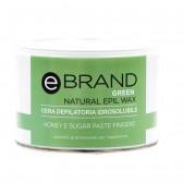 Cera Depilatoria Idrosolubile Pasta di Zucchero Ebrand - 500 gr