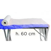 Rotoli Lenzuolino Carta 2 Veli Micro,Incollato in Pura Cellulosa H. 60 cm. X 70 mt., Conf. 6 Pz.