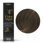 Crema Colorante Permanente, Color Argan, 7.13 Biondo Cenere Dorato, 120 ml