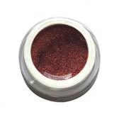 Gel Glitterato n. 17, Marron Glacé, Ebrand Nails, ml. 5