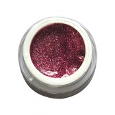 Gel Glitterato n. 20 - Borgogna - Ebrand Nails - ml. 5