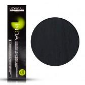 Tinta Capelli Inoa 1 Colore Professionale Nero, L'Oreal, 60 gr