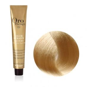 Tinta Capelli Biondo Platino Intenso 10.00 Professionale - Color Keratin - Oro Therapy