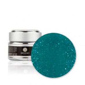 Gel unghie Verde Smeraldo Glitterato n. 200 - Esmeralda - con Fibre di Vetro - Ebrand Nails