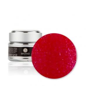 Gel unghie Rosso Glitterato n. 201 - Afrodite - con Fibre di Vetro - Ebrand Nails