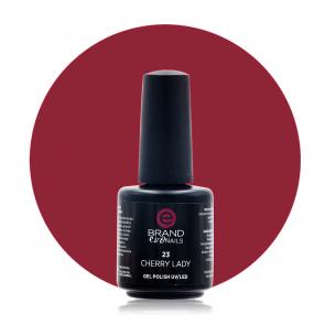 Smalto Semipermanente Rosso Carminio, Cherry Lady Nr. 23, 15 ml, Evo Nails