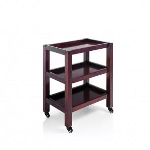 Carrello estetica 3 piani in legno Trolley Spa 3