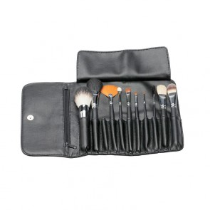 Set 10 Pennelli Make Up con Astuccio