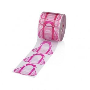 Cartine Allungamento Nail Form Rosa - Rotolo 500 pz
