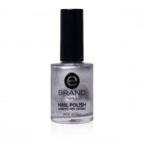Smalto Argento Professionale Ebrand Nails - n. 38 Moon Silver