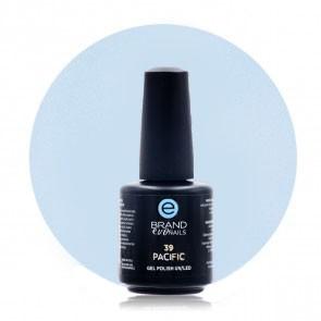 Smalto Semipermanente Azzurro, Pacific, Nr. 39, 15 ml, Evo Nails