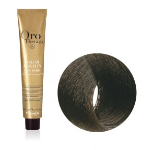 Tinta Capelli Castano 4.0 Professionale - Color Keratin - Oro Therapy
