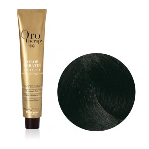 Tinta Capelli Cacao 4.14 Professionale - Color Keratin - Oro Therapy