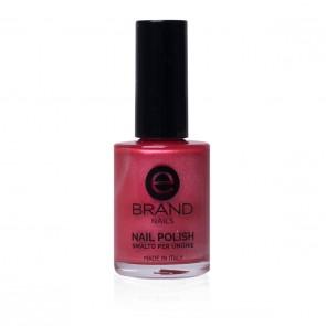 Smalto Rosso Brillante Perlato Professionale Ebrand Nails - n. 55 India