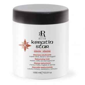 Maschera Ristrutturante Keratin Star - 1000 ml - RR Real Star
