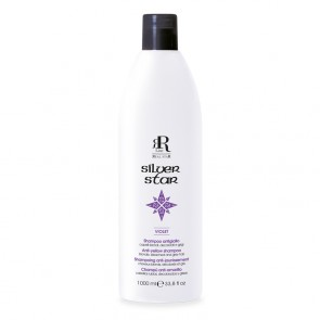 Shampoo Antigiallo Silver Star - 1000 ml - RR Real Star