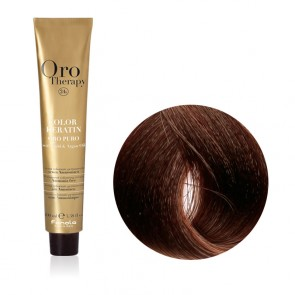 Tinta Capelli Biondo Scuro Beige 6.13 Professionale - Color Keratin - Oro Therapy
