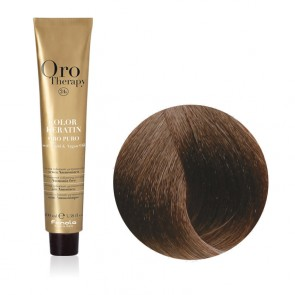 Tinta Capelli Biondo Scuro Sabbia 6.31 Professionale - Color Keratin - Oro Therapy