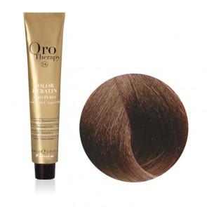 Tinta Capelli Biondo Scuro Dorato Rame 6.34 Professionale - Color Keratin - Oro Therapy