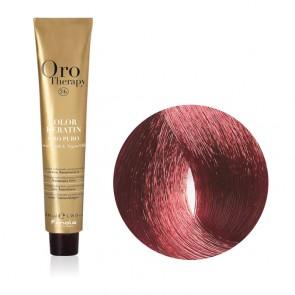 Tinta Capelli Biondo Scuro Mogano 6.5 Professionale - Color Keratin - Oro Therapy