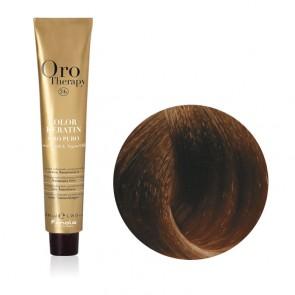 Tinta Capelli Biondo 7.0 Professionale - Color Keratin - Oro Therapy