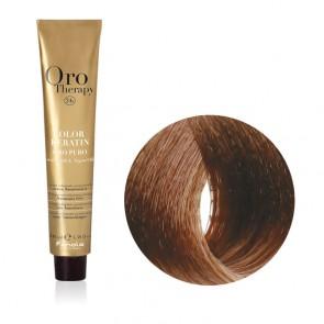 Tinta Capelli Biondo Dorato 7.3 Professionale - Color Keratin - Oro Therapy