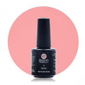 Smalto Semipermanente Rosa Pallido Nude nr. 7, 15 ml, Evo Nails