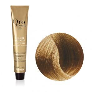 Tinta Capelli Biondo Chiaro Sabbia 8.31 Professionale - Color Keratin - Oro Therapy