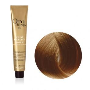 Tinta Capelli Biondo Chiarissimo Intenso 9.00 Professionale - Color Keratin - Oro Therapy