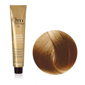 Tinta Capelli Biondo Chiarissimo 9.0 Professionale - Color Keratin - Oro Therapy