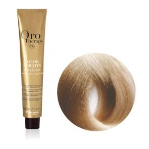 Tinta Capelli Biondo Chiarissimo Cenere 9.1 Professionale - Color Keratin - Oro Therapy