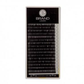 Box Extension Ciglia Nere Volume - Silk (Seta) - Misura Singola - Ebrand Lashes