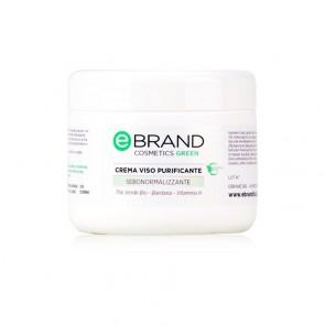 Crema Viso Purificante - Ebrand Cosmetics - Vaso  250 ml