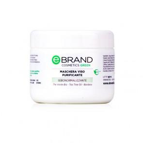 Maschera Viso Depurativa - Ebrand Cosmetics - Vaso 250 ml