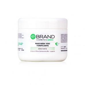 Maschera Viso Tonificante - Ebrand Cosmetics - Vaso 250 ml