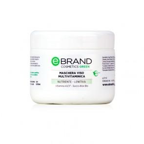 Maschera Viso Vitaminica - Ebrand Cosmetics - Vaso 250 ml