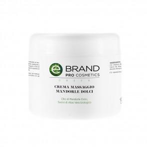 Crema massaggio corpo mandorle dolci, vaso 500 ml