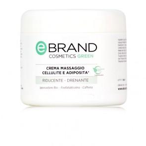 Crema Massaggio Corpo Trattamento Cellulite - Ebrand Cosmetics - Vaso 500 ml