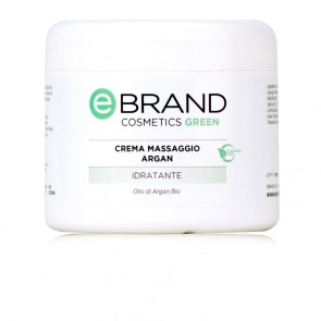 Crema Massaggio Corpo all'Olio d'Argan - Ebrand Green - Vaso 500 ml
