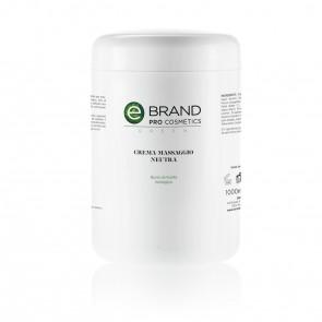 Crema Massaggio Corpo Neutra -  Ebrand Green - Vaso da 1000 ml