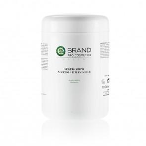 Scrub Corpo Nocciole e Mandorle - Ebrand Green - 1000 ml