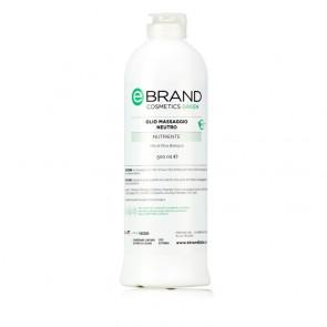 Olio Massaggio Neutro - Ebrand Green - Flacone 500 ml