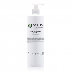 Olio Massaggio Neutro, Ebrand Pro Cosmetics, Flacone 500 ml