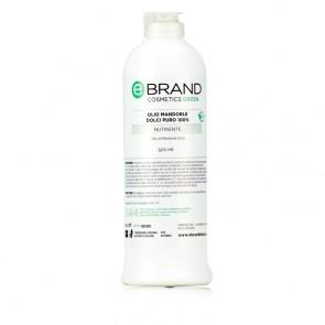 Olio Massaggio Mandorle Dolci Puro 100% - Ebrand Green - Flacone 500 ml
