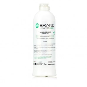 lio Massaggio Trattamento Cellulite - Ebrand Green - Flacone 500 ml