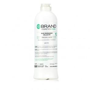 lio Massaggio Trattamento Cellulite - Ebrand Green - Flacone 500 ml