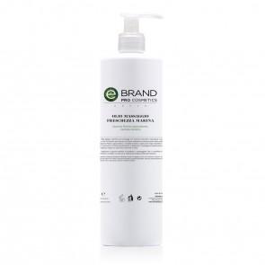 Olio Massaggio Drenante Freschezza Marina,Ebrand Pro Cosmetics, Flacone 500 ml