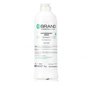 Olio Massaggio all'Olio di Argan - Ebrand Green - Flacone 500 ml